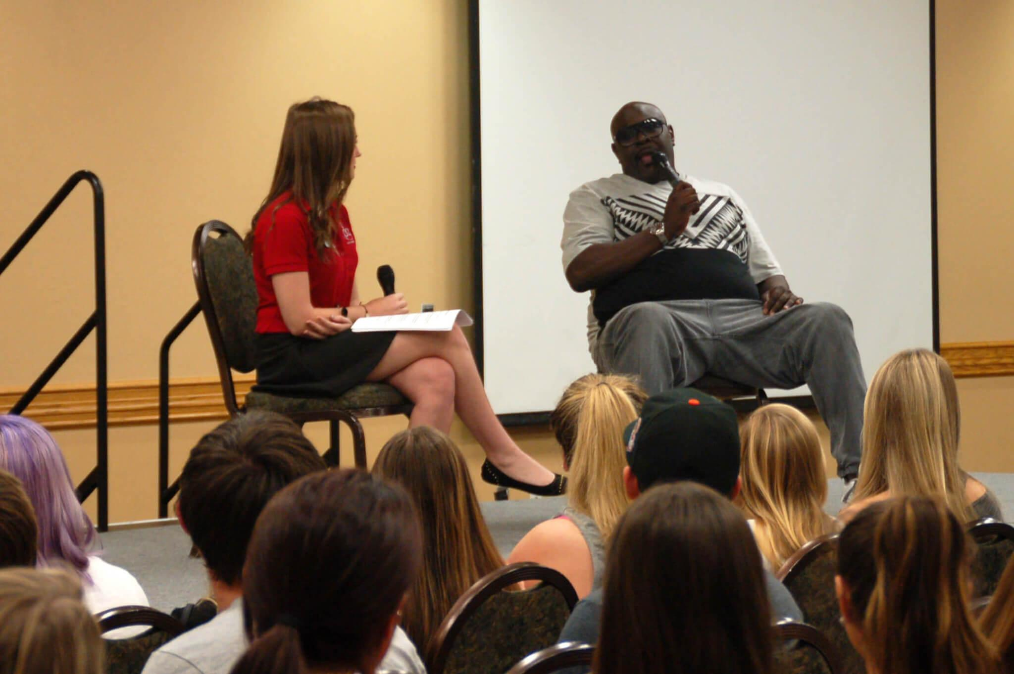 MTV star Big Black does work at FGCU
