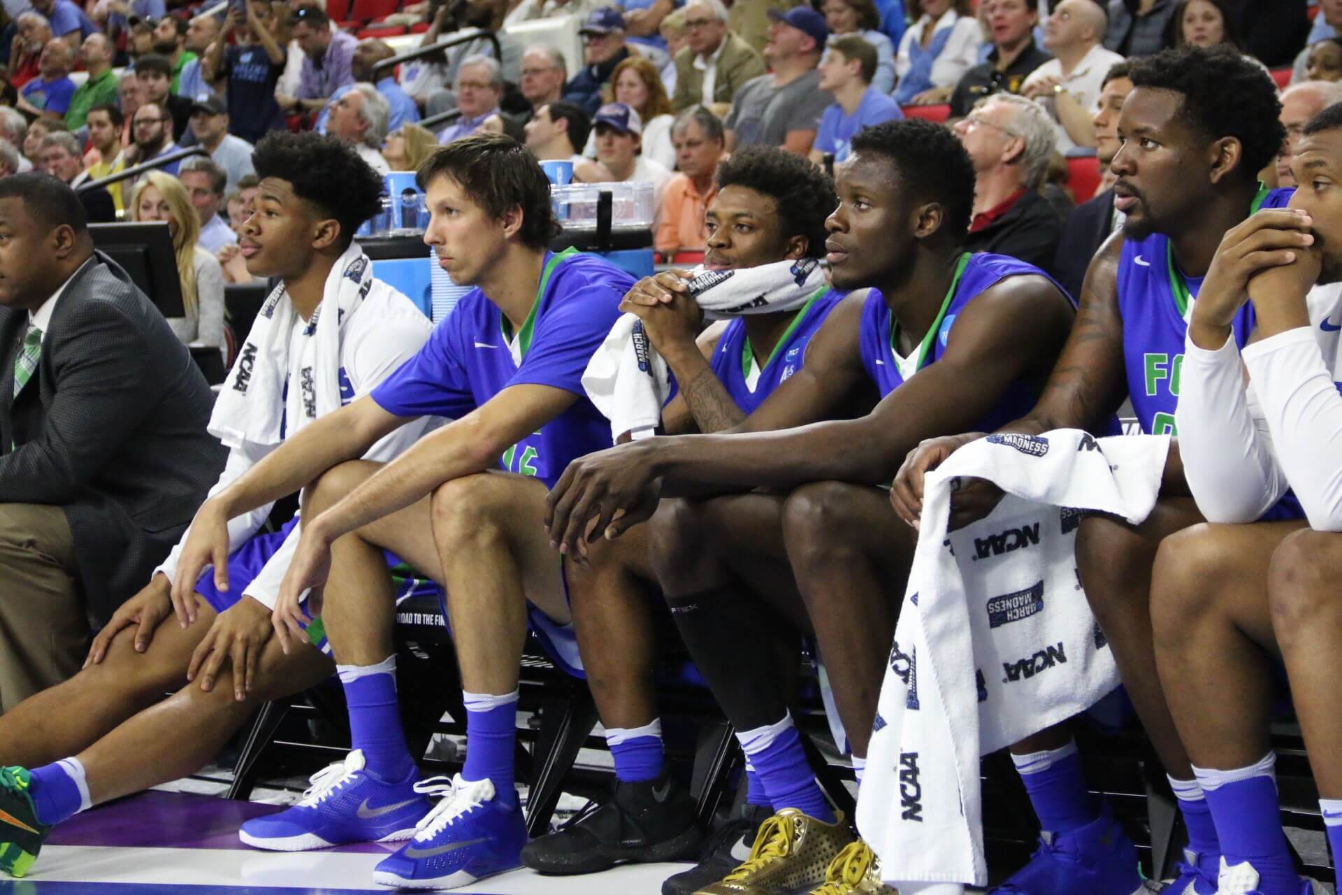 No. 16 FGCU takes heartbreaking loss to No. 1 UNC