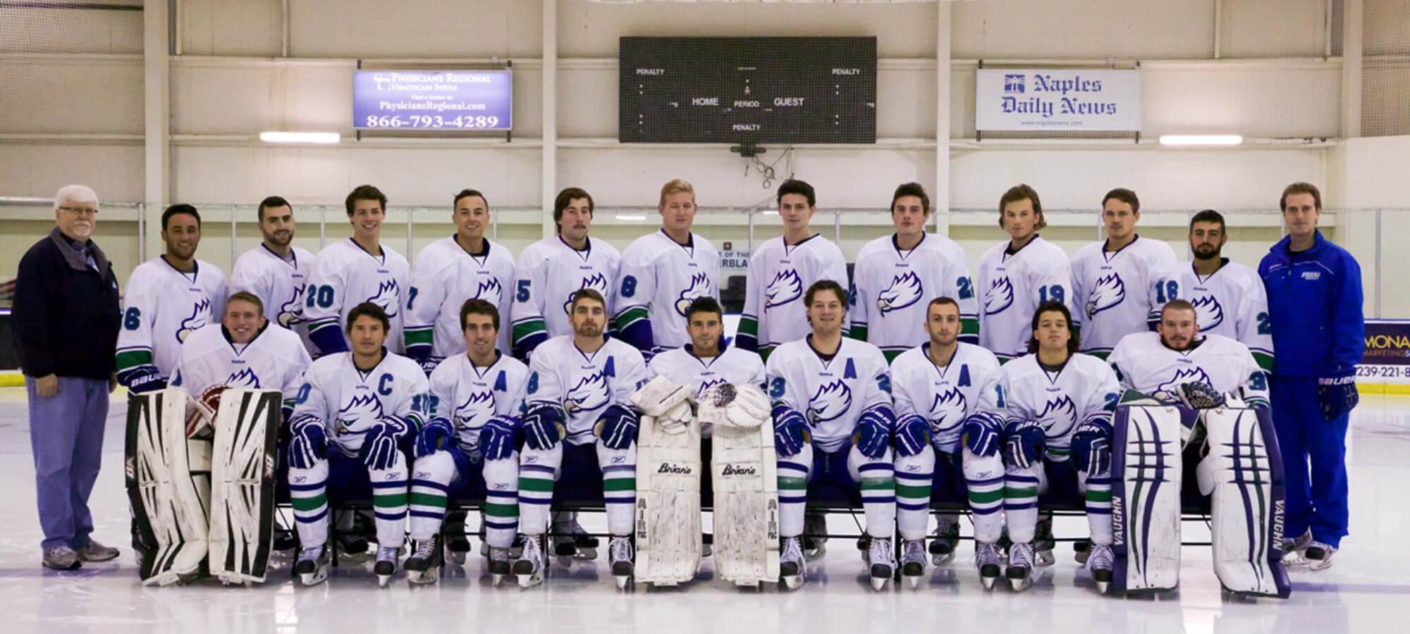 FGCU Division II hockey blows by Liberty to claim 2016 ACHA D2 National Championship