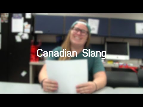 Eagle News Does: Canadian Slang