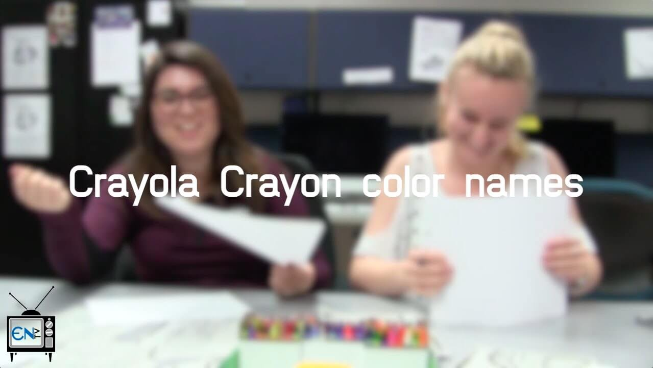 Eagle News Does: Guess names of Crayola crayon colors