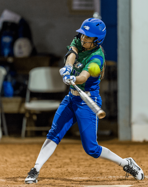 Softball freshman turns Dunk City into 'Rac City'