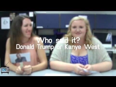 Eagle News Does: Who Said It – Donald Trump or Kanye West?