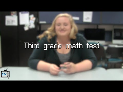 Eagle News Does: 3rd Grade Math Test