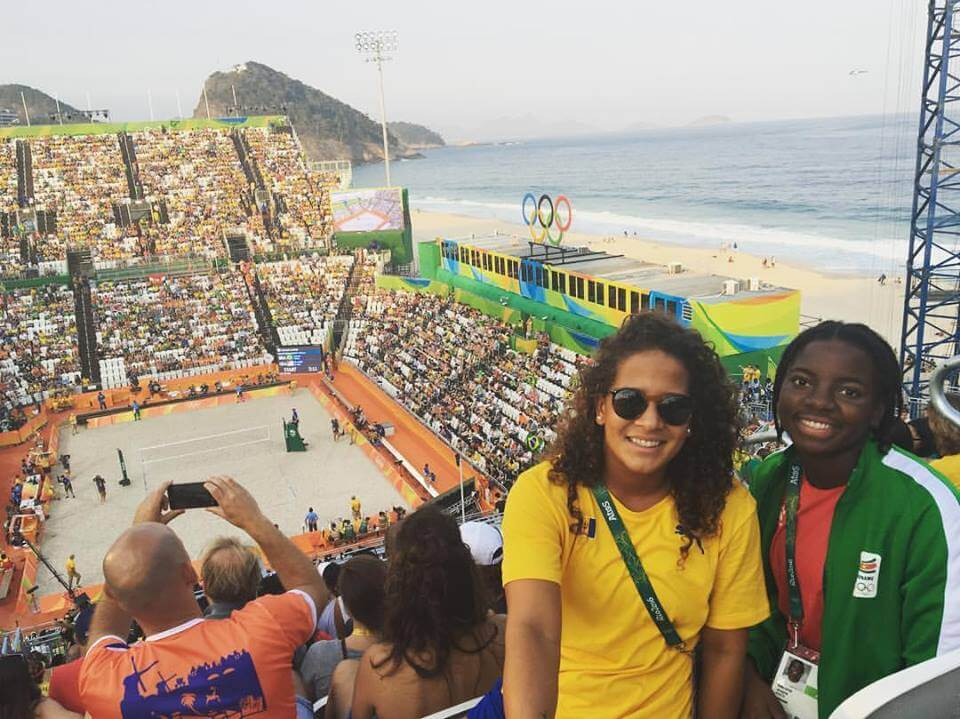 Eagles of past and present leave their  mark on the 2016 Rio Olympics