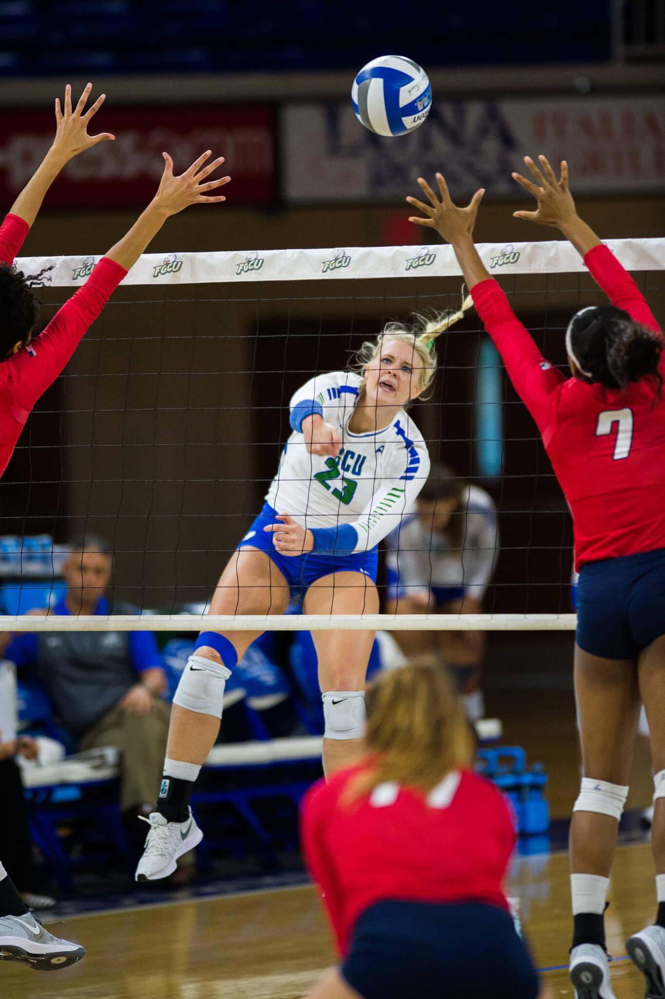 FGCU volleyball extends win streak to 13 with 3-0 win ove Bethune-Cookman