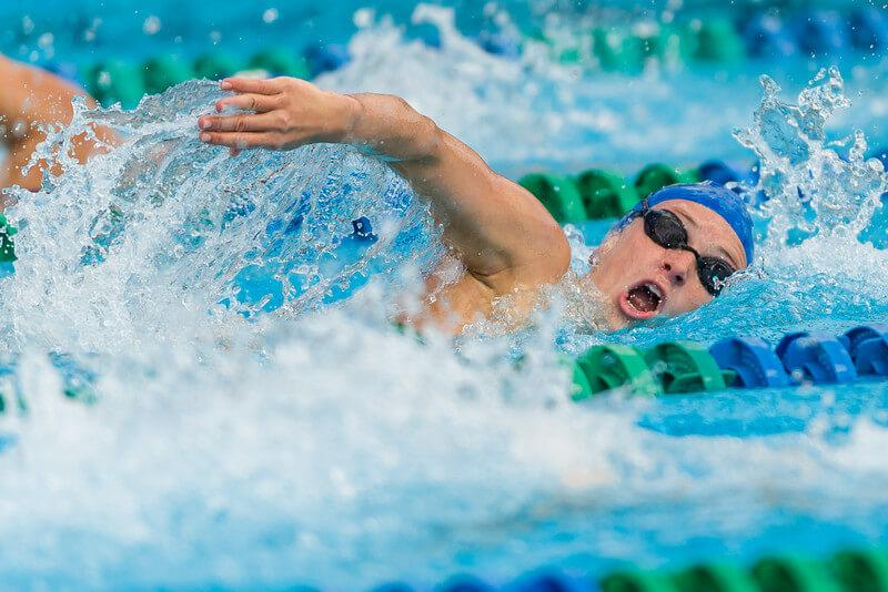 FGCU swimming and diving kicks off 2016 season with third place finish at the All Florida Invitational