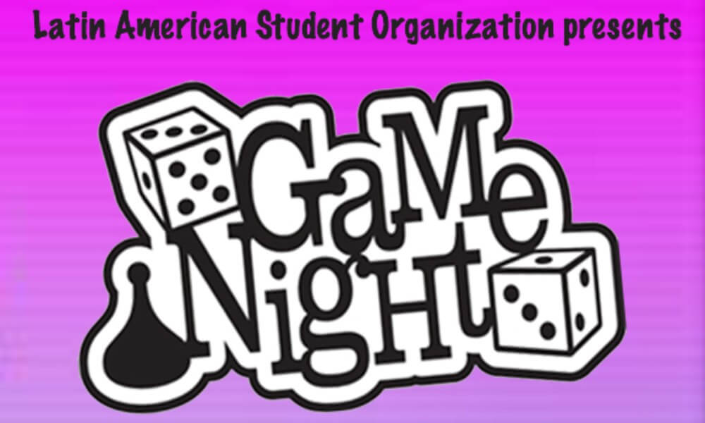 LASO Game Night to celebrate Hispanic Heritage Month