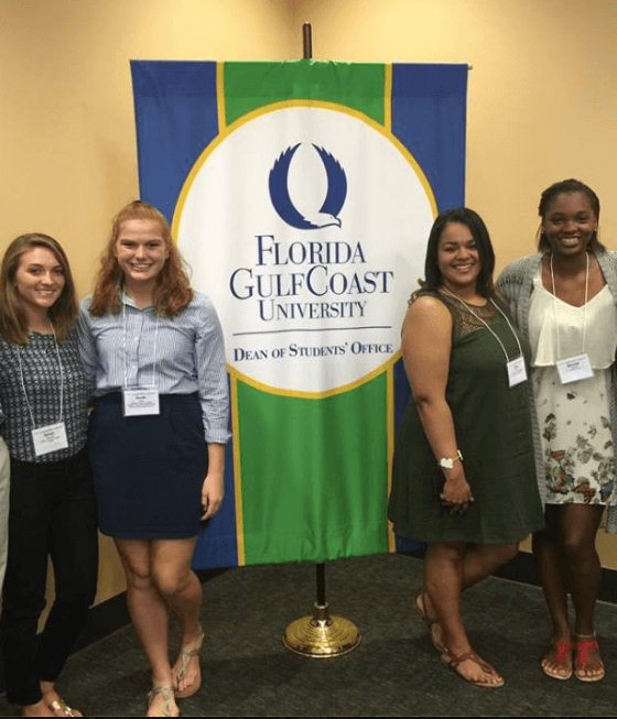FGCU student honored at state level for service learning