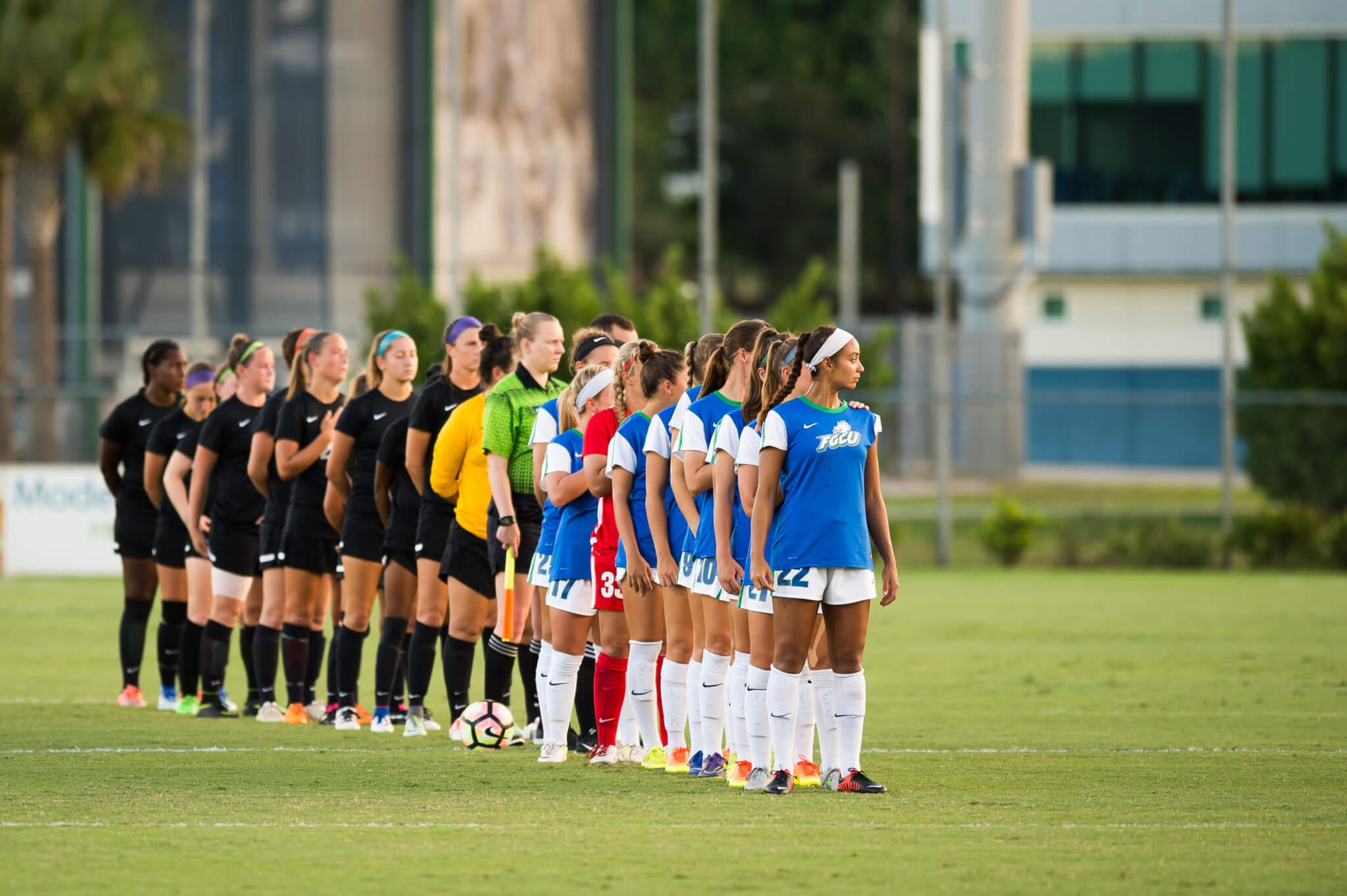 FGCU Women's Soccer plays to a 0-0 draw vs. Stetson