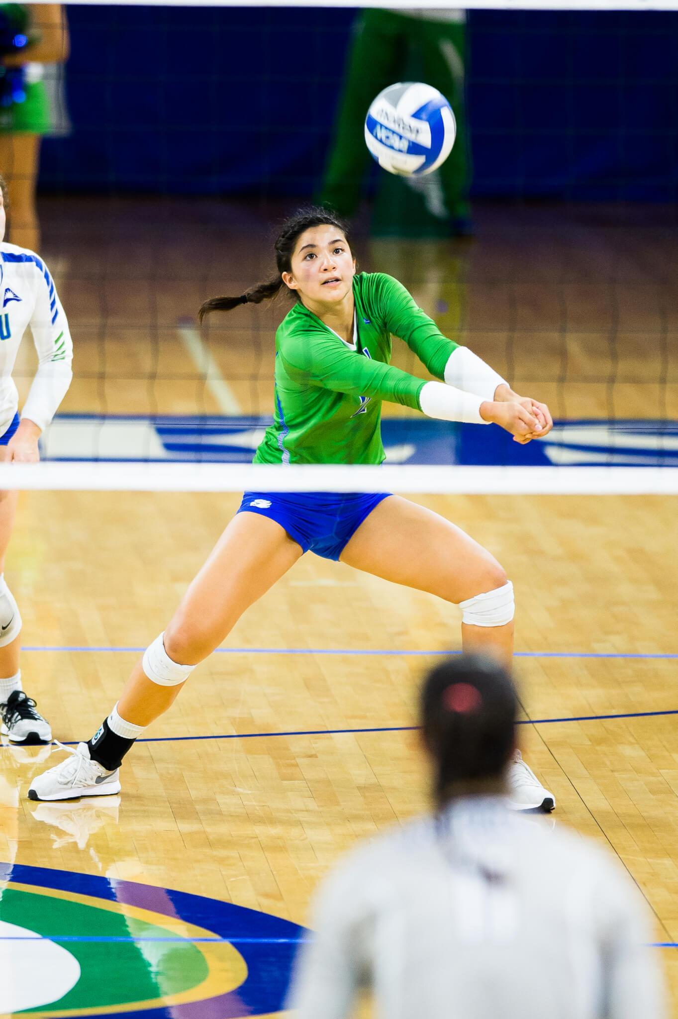 FGCU volleyball claims 20th victory with 3-0 sweep of Stetson