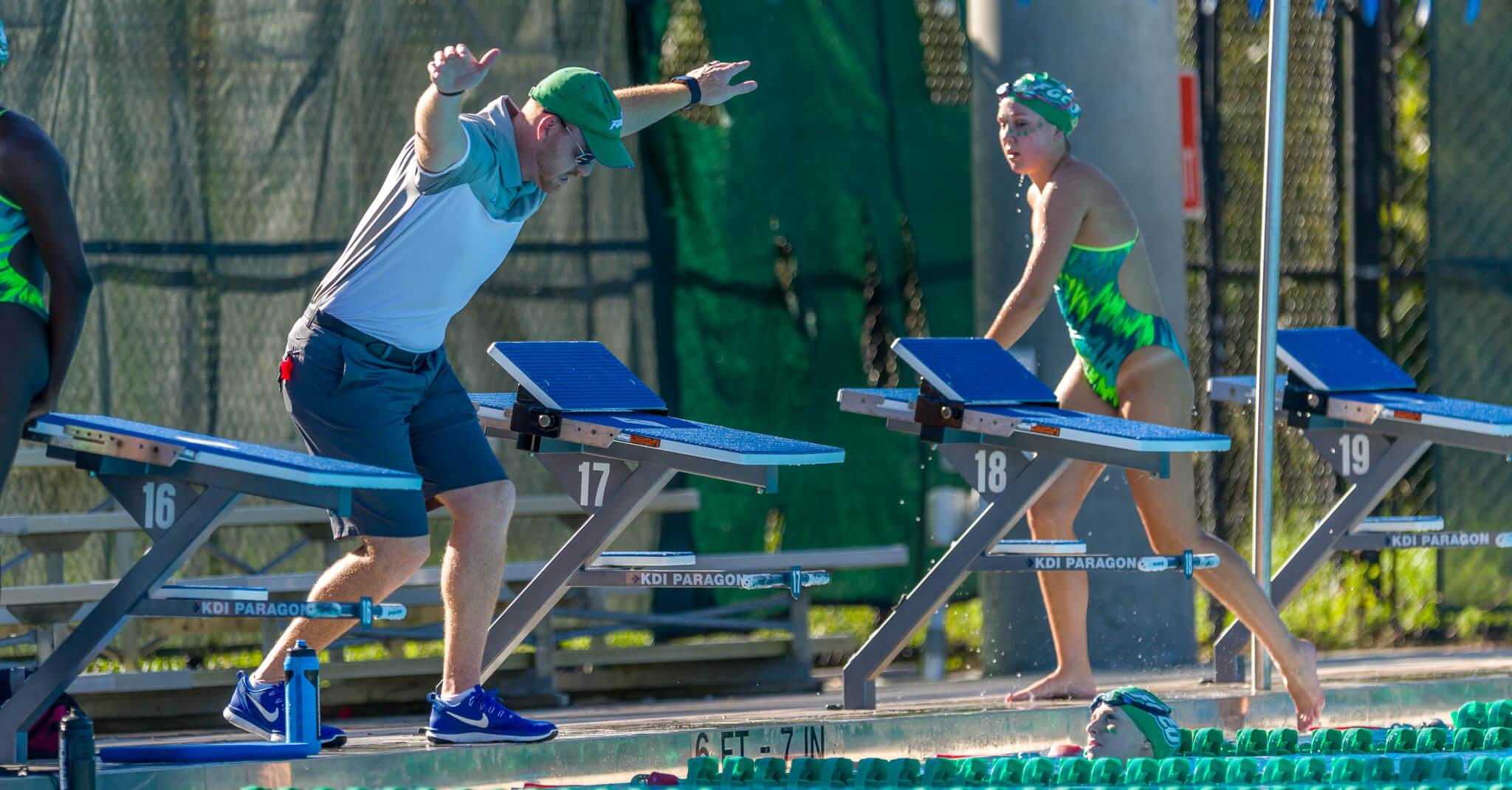 FGCU swimming and diving takes on first season under Dave Rollins