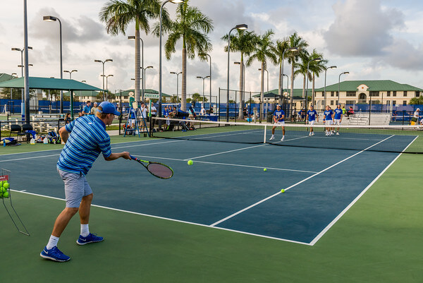 FGCU men's tennis suffers 2-4 loss to #34 Memphis