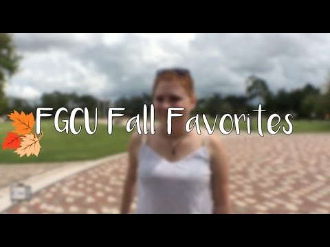 FGCU Fall Favorites