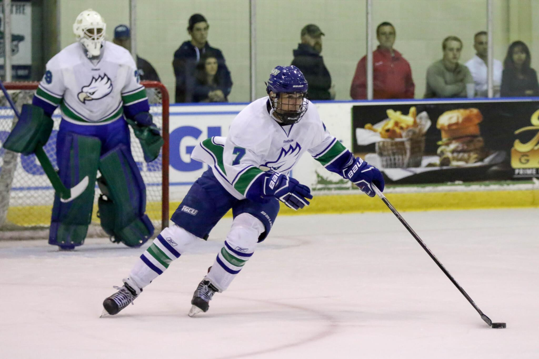 FGCU DII hockey defeats Miami in biggest tilt of the season