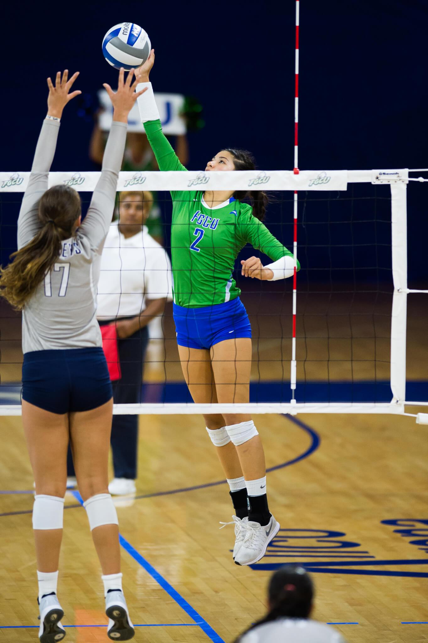 FGCU volleyball claims win over Kennesaw State on Senior Night