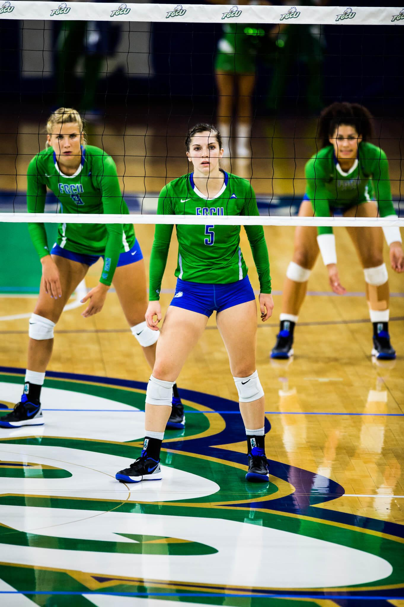 FGCU volleyball loses last home game of season 3-0 to Lipscomb