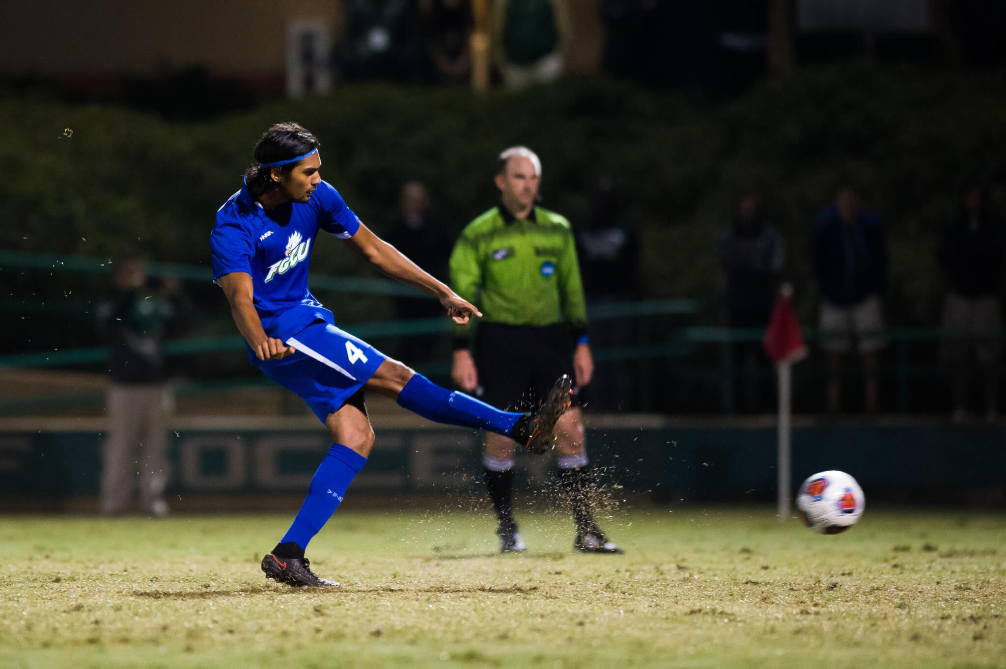 FGCU men's soccer open season with 3-1 loss to No. 3 Denver