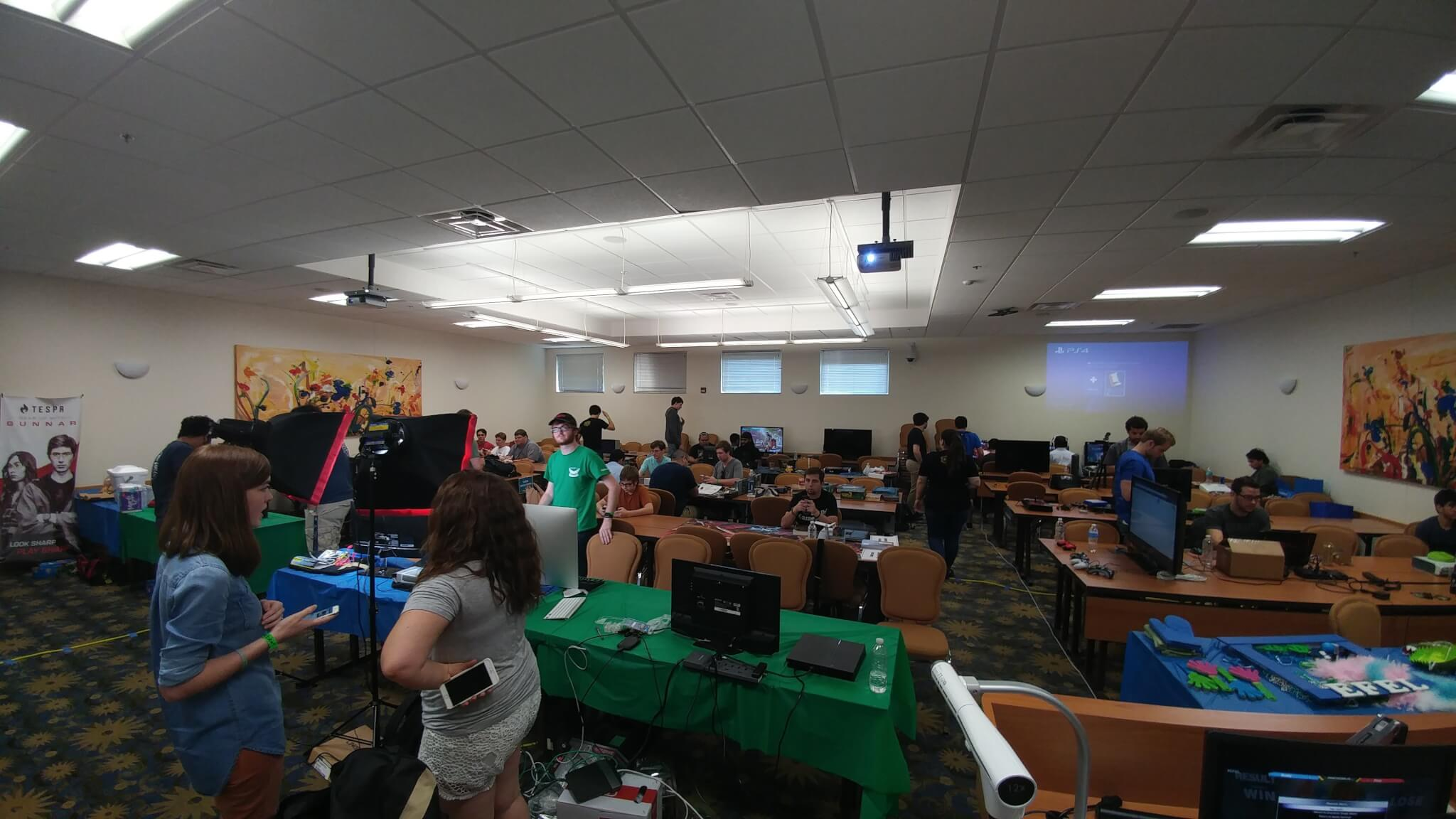 FGCU students host all-day gaming event to raise money for Johns Hopkins Children's Hospital