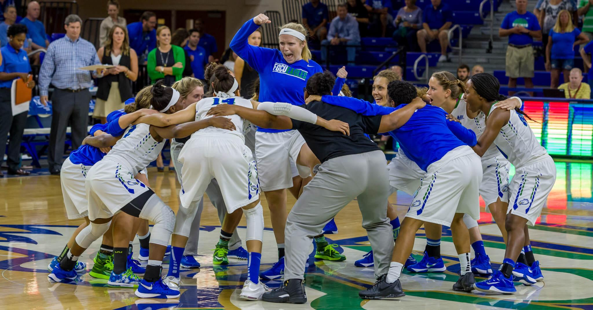 FGCU women's basketball welcomes the challenge of a new roster