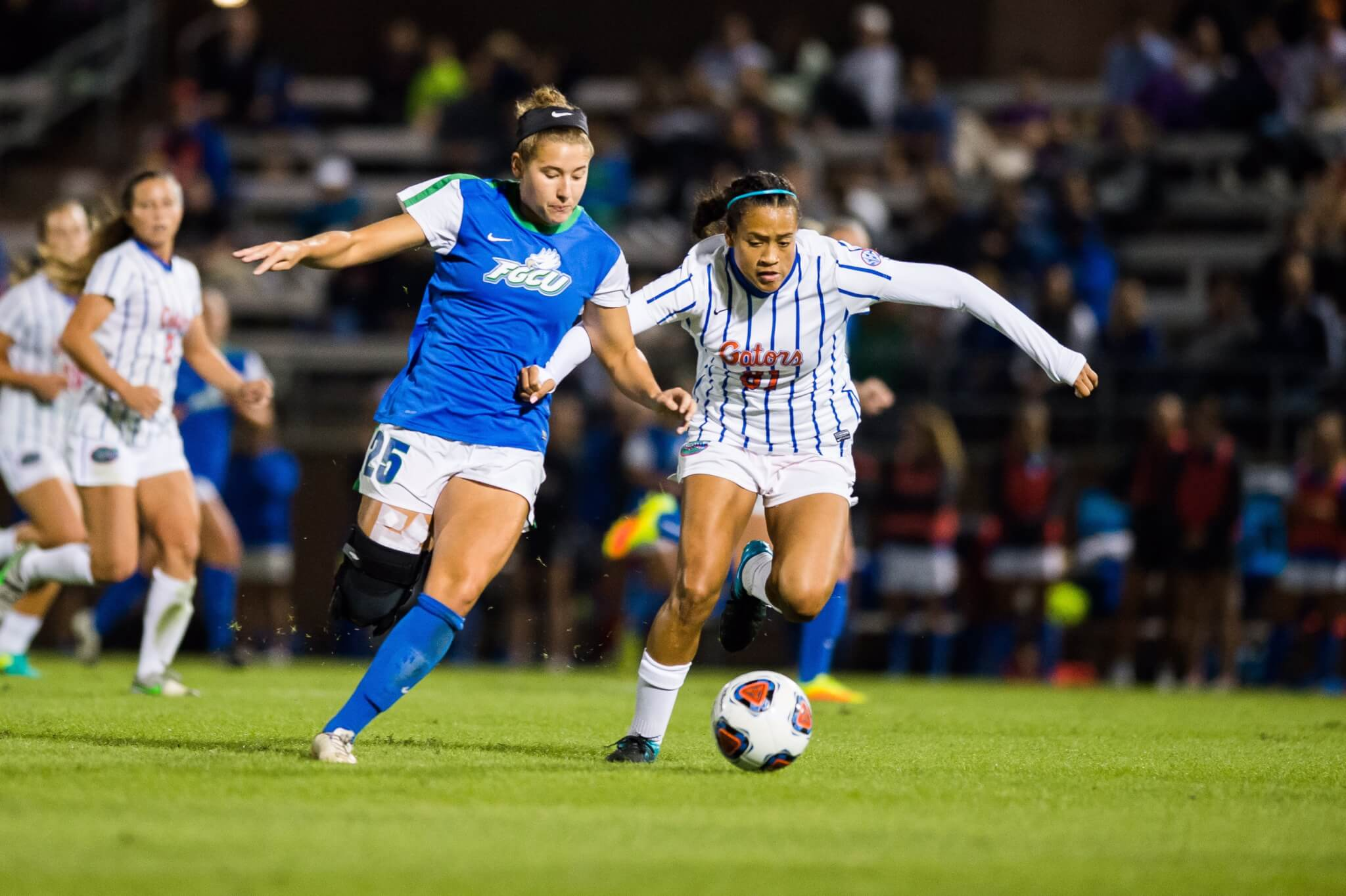 FGCU women's soccer falls to UF 3-0 in the first round of NCAA tournament