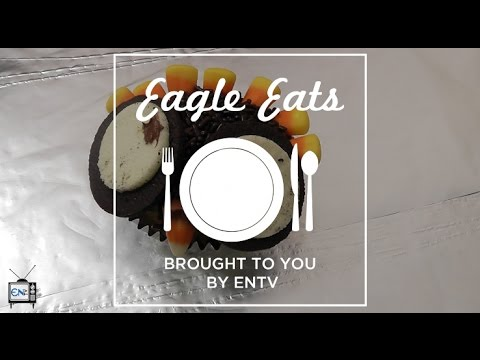 Eagle Eats: Festive Turkey Cupcakes