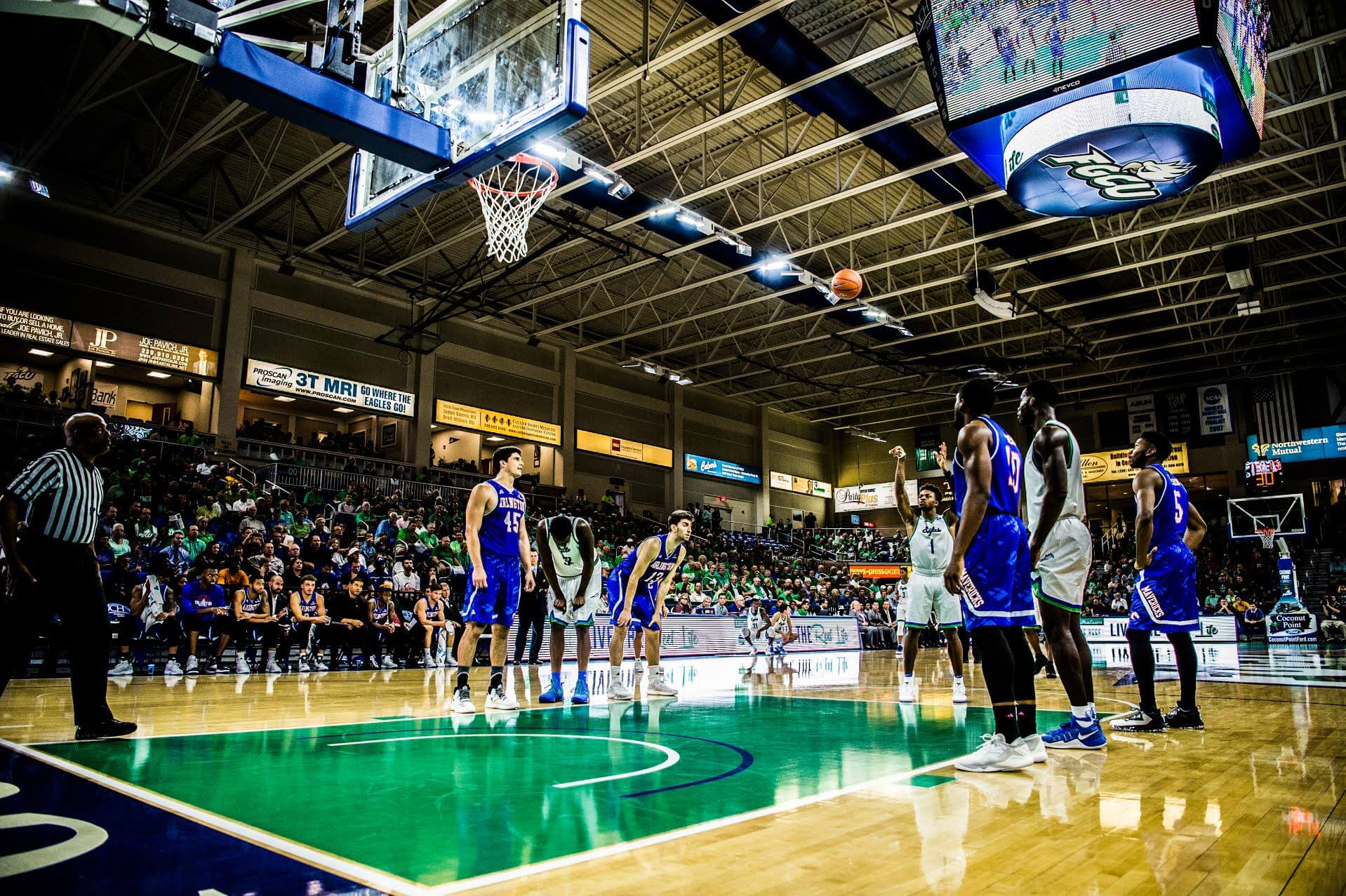 FGCU men's basketball falls to Michigan State after controversial ending