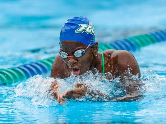 Leter named Suriname's Swimming Sportswoman of the Year
