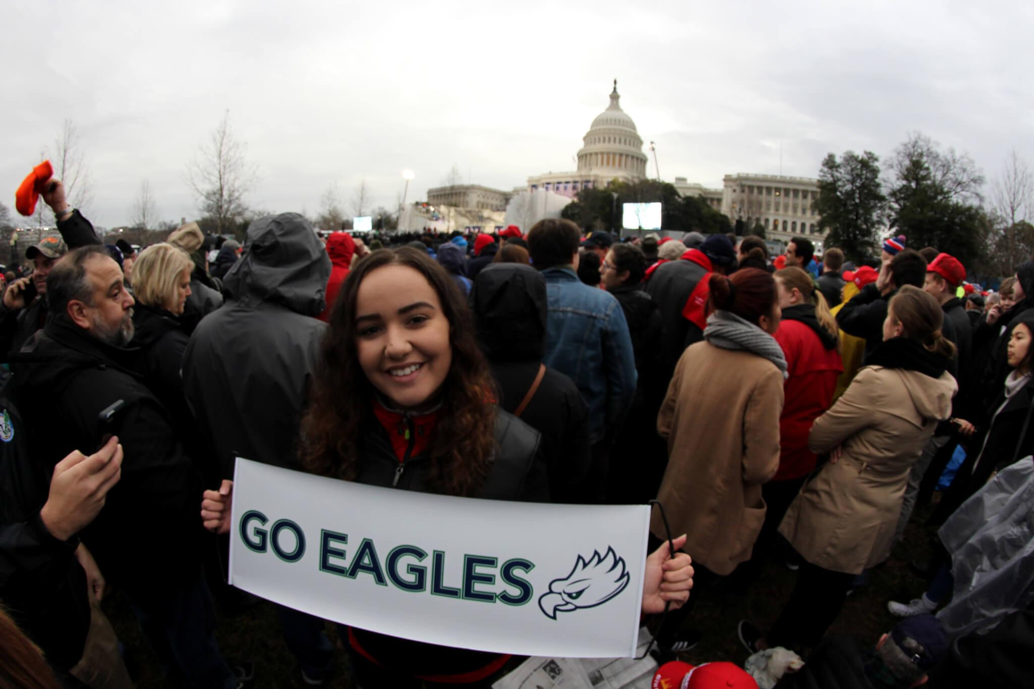 How I went from writing a satirical article on Trump's announcement to covering his inauguration on Capitol Hill