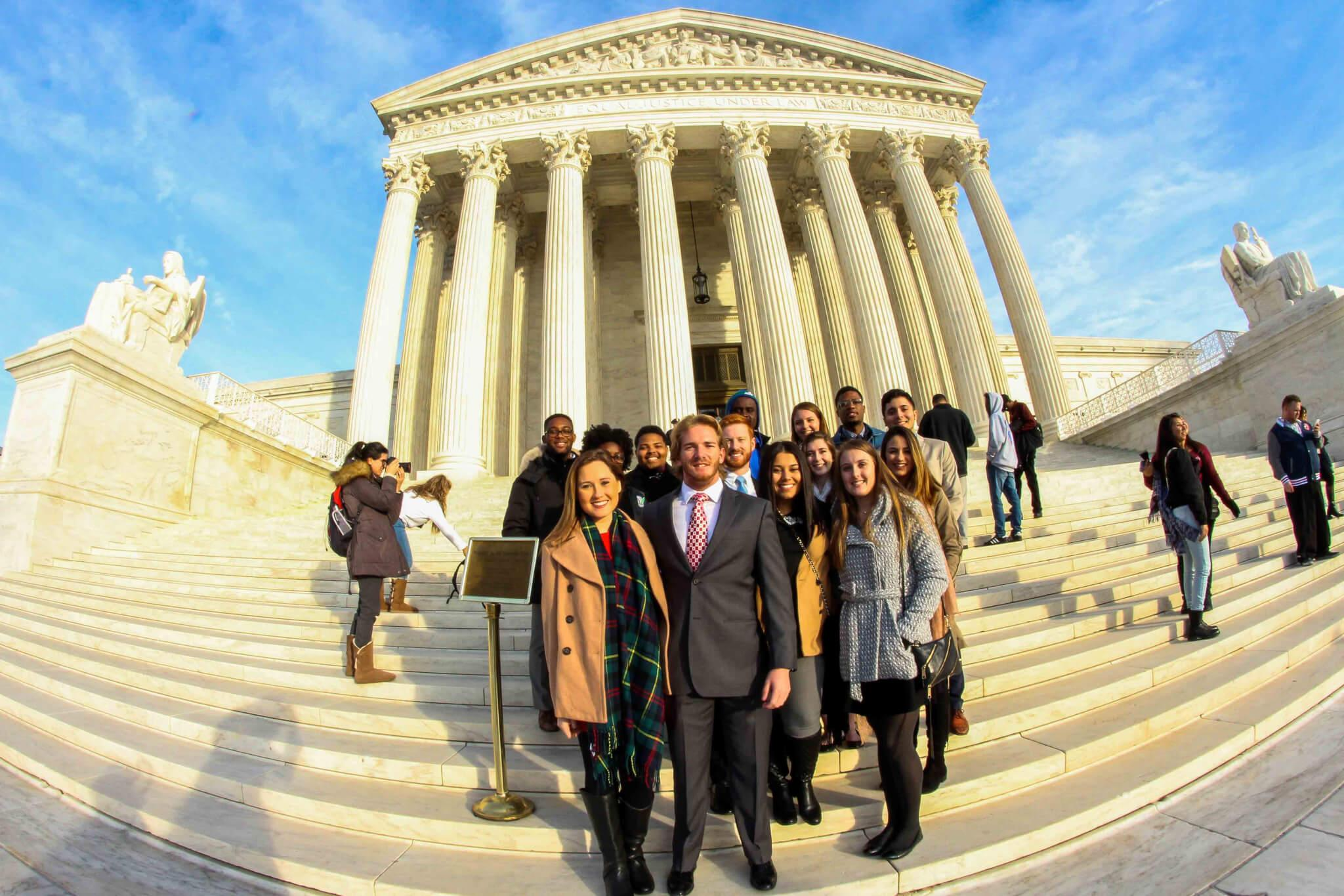 Student Government attends historic inauguration