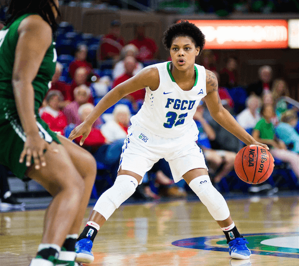 FGCU women's basketball defeats JU over the weekend to win 11th straight and move to the top spot in the ASUN
