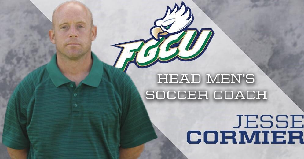 Jesse Cormier named FGCU men's soccer head coach