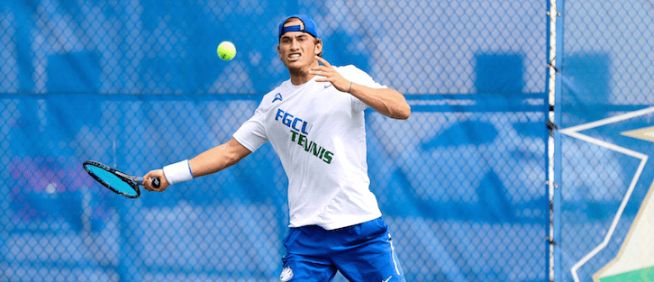FGCU men's tennis team claims ASUN Championship with victory over Lipscomb