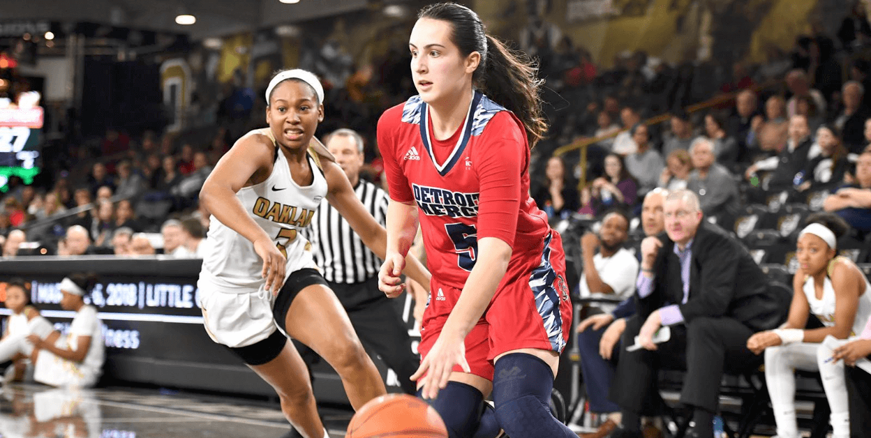 Detroit Mercy's Anja Marinkovic Joins FGCU WBB