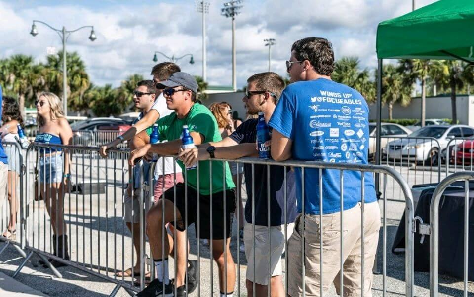 FGCU debuts beer garden for students at event, sells out in one hour