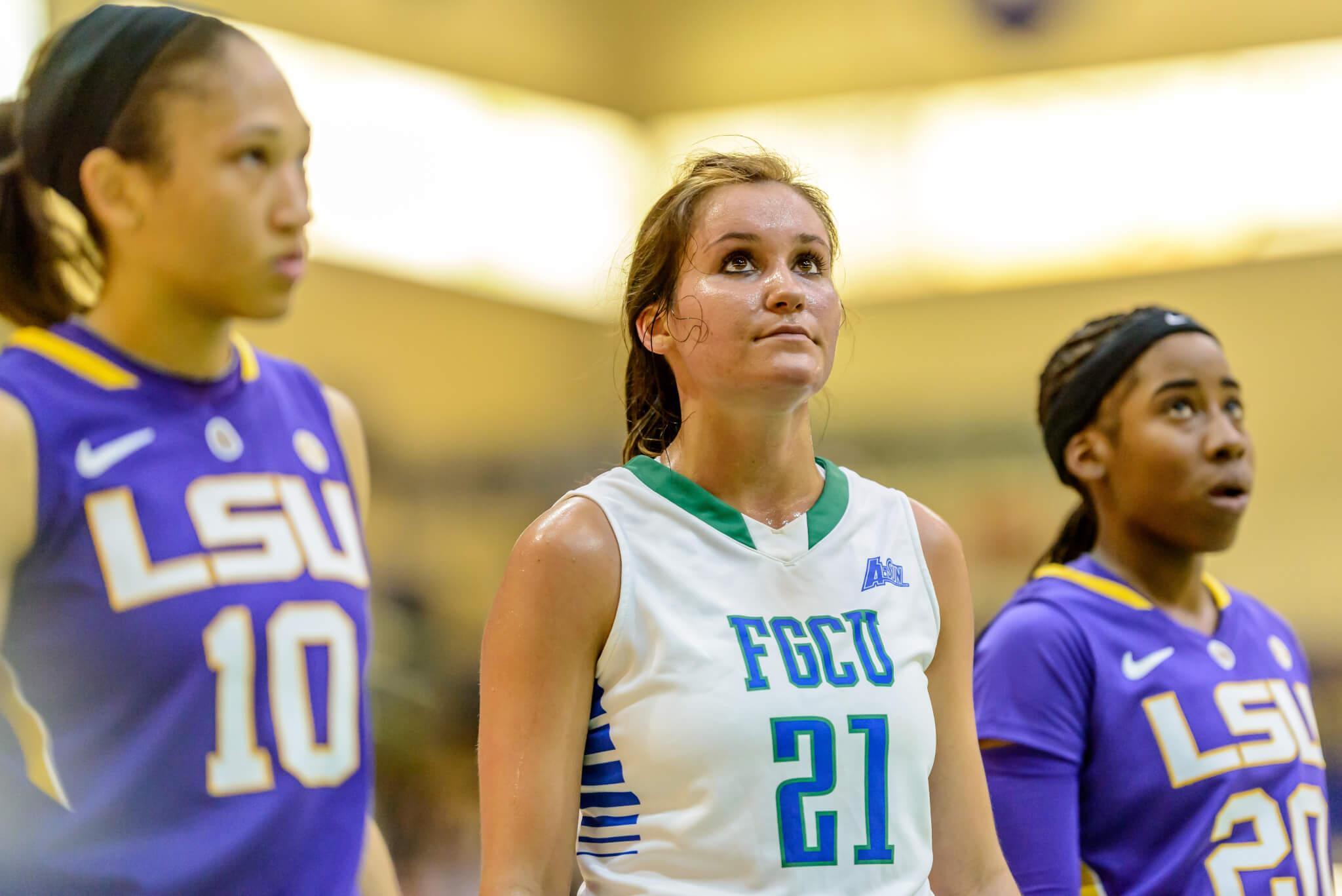 FGCU freshman Jamie Gluesing fills crucial role