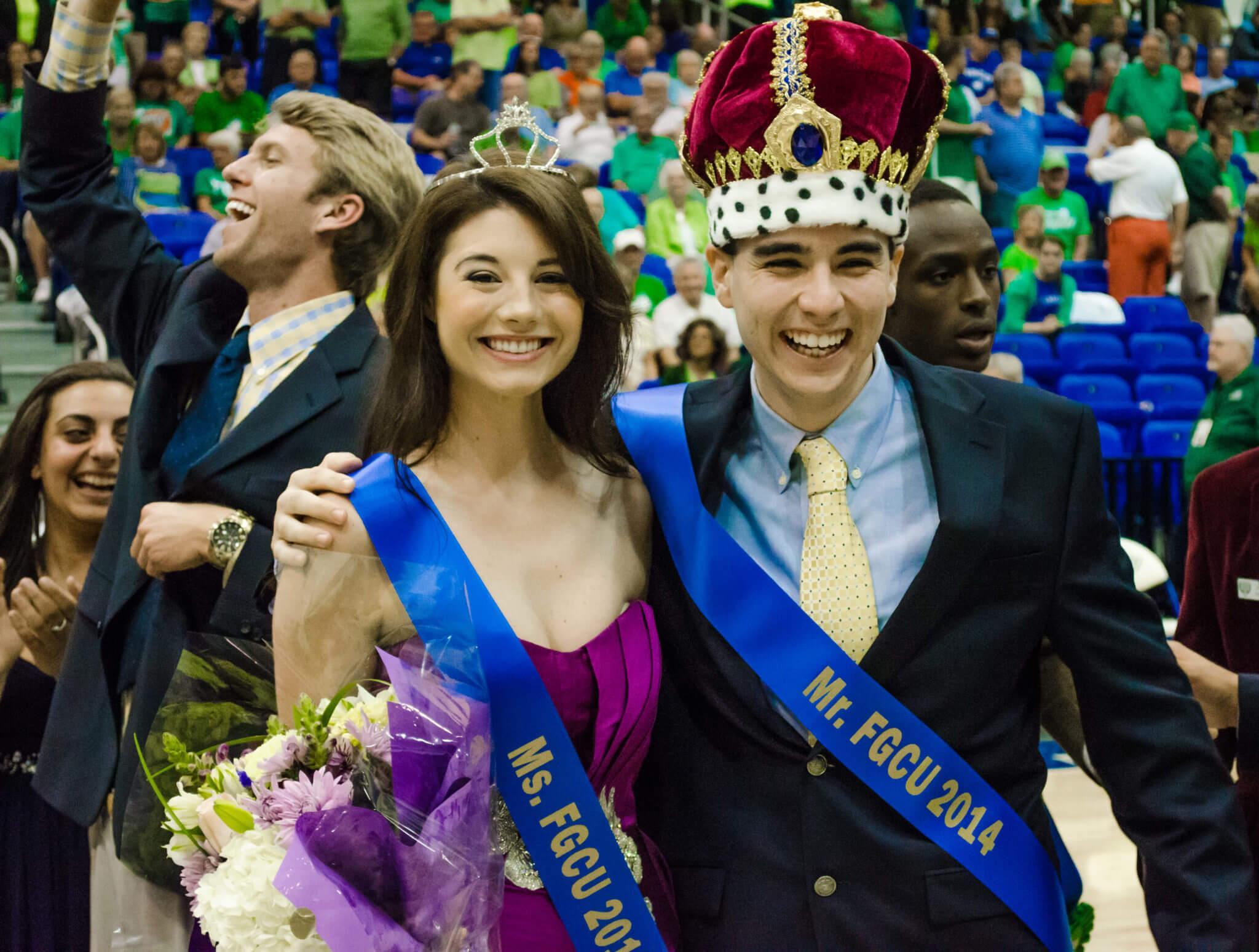 Michael Denkler, Riley Nowell named FGCU pageant winners