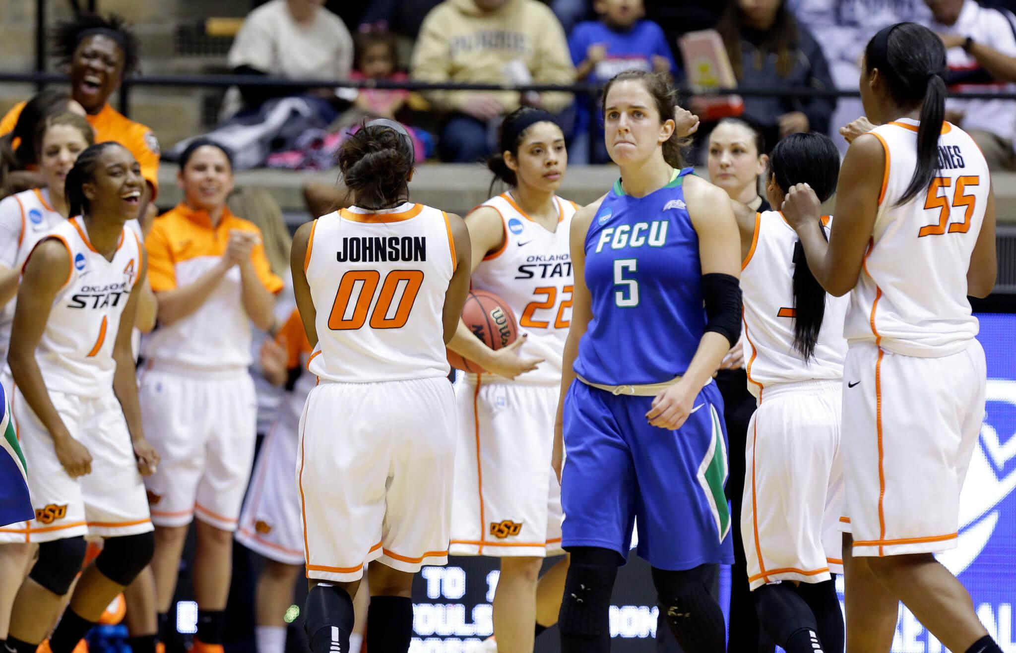 Upset not meant to be for FGCU women