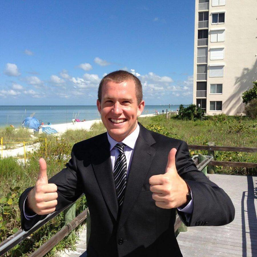 Alumnus Adam James makes career out of motivational speaking