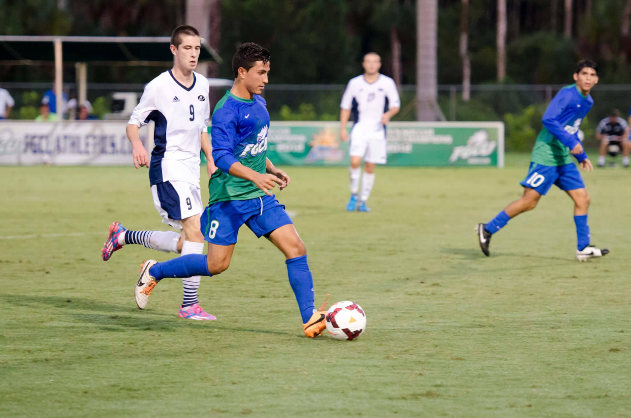 FGCU men's soccer ties two games; now ranked 24th in the nation