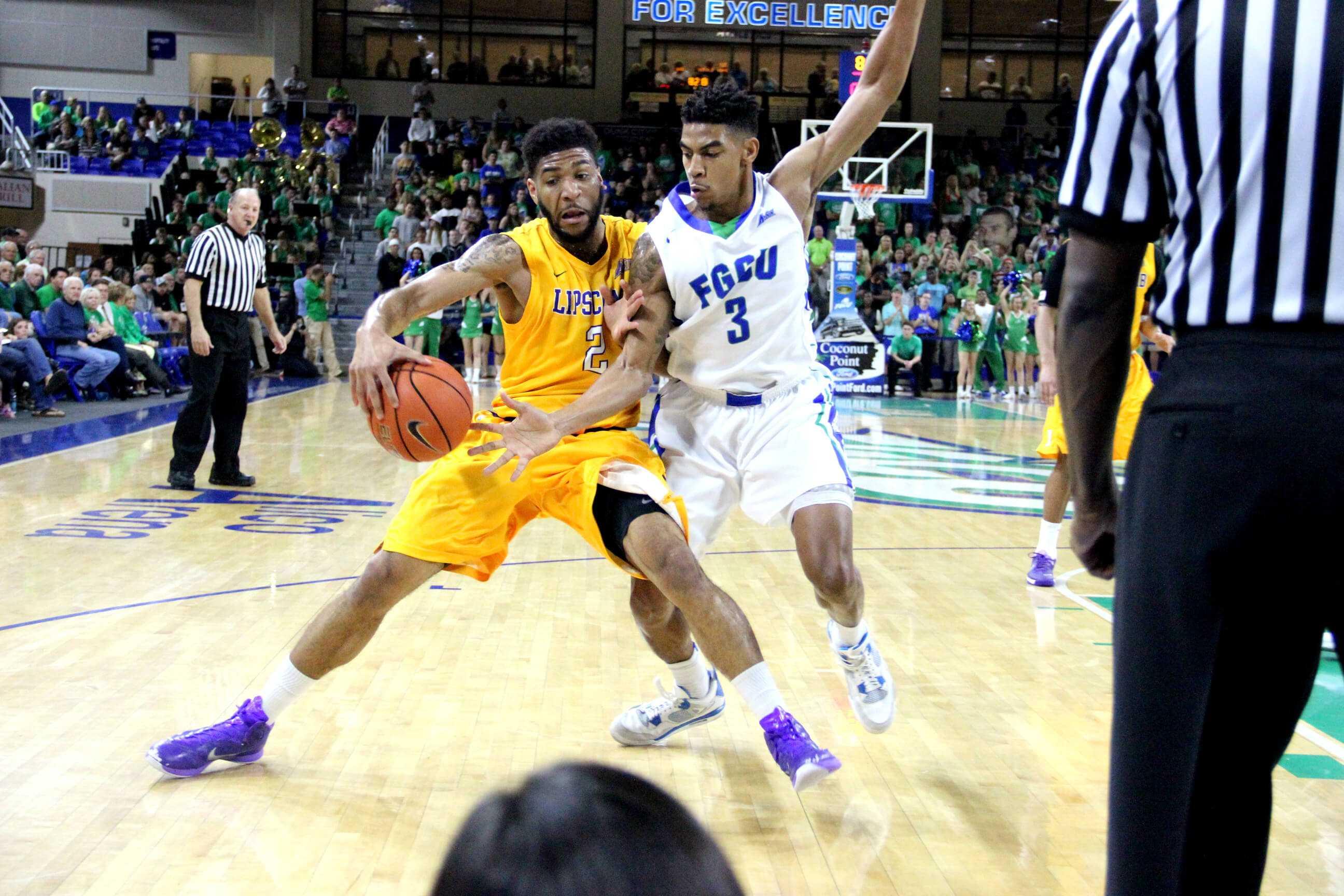 Men's basketball: FGCU defeats Lipscomb