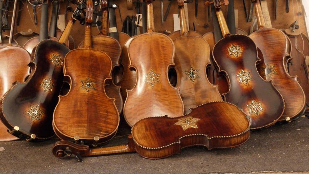 Violins gave hope during Holocaust