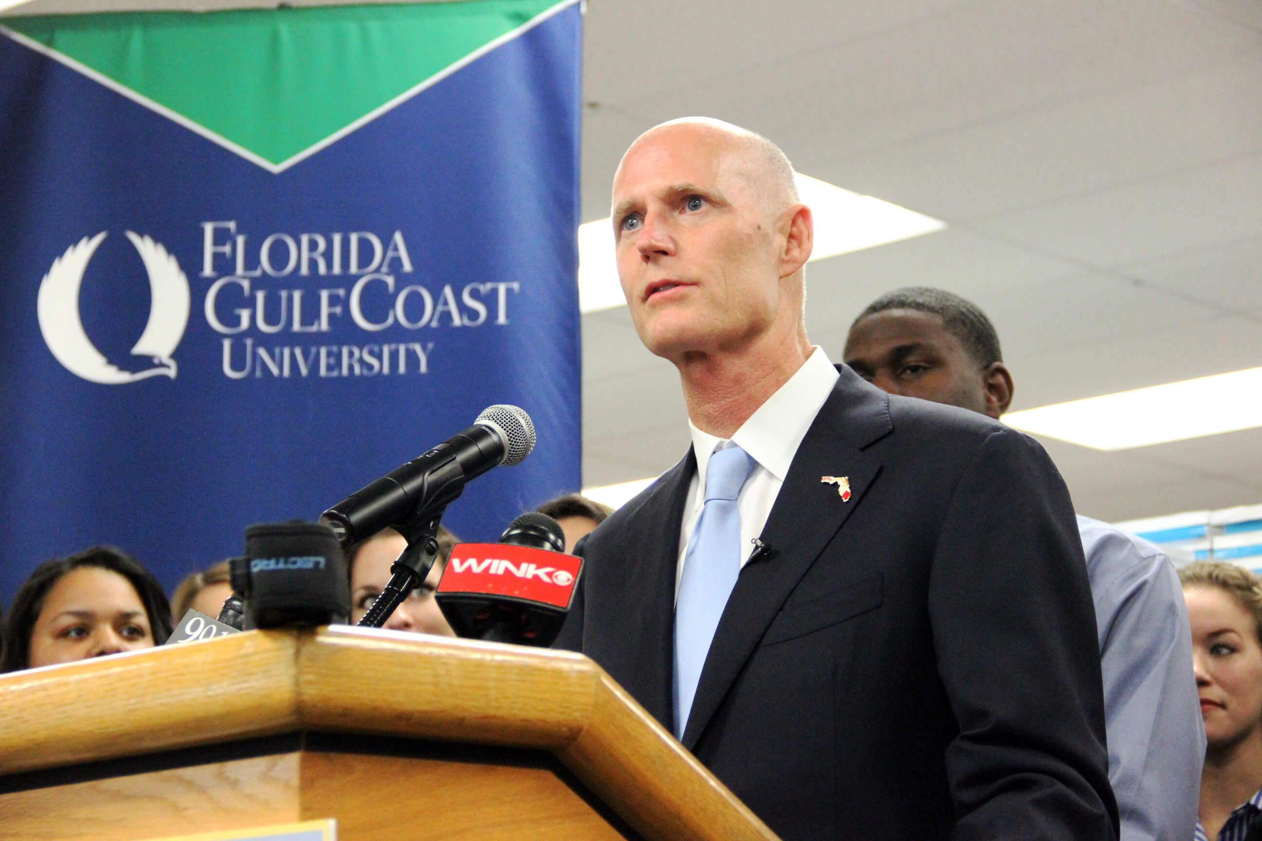 Gov. Scott refuses to take in refugees posing a threat to Obama's plans