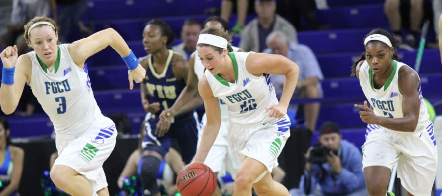 FGCU+women+run+past+North+Florida+with+32-point+win+on+road