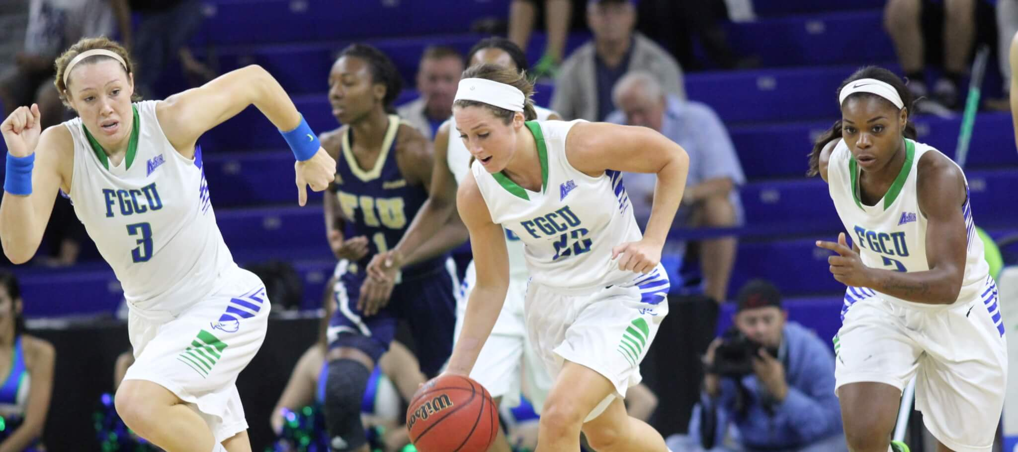FGCU women run past North Florida with 32-point win on road