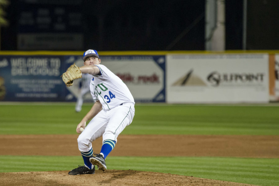 FGCU+baseball+drops+three+of+four+during+the+home+opener