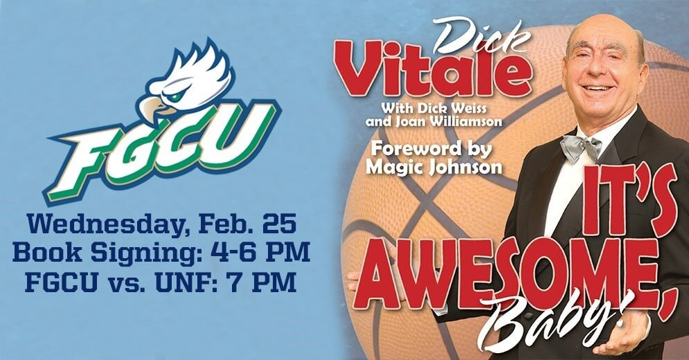 Dick Vitale, senior night comes to Dunk City