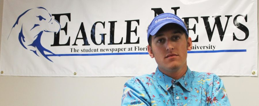 Eagle+News+Editor-in-chief%2C+Justin+Kane+says+final+goodbyes+and+reflects+on+his++experiences+at+FGCU+and+with+Eagle+News