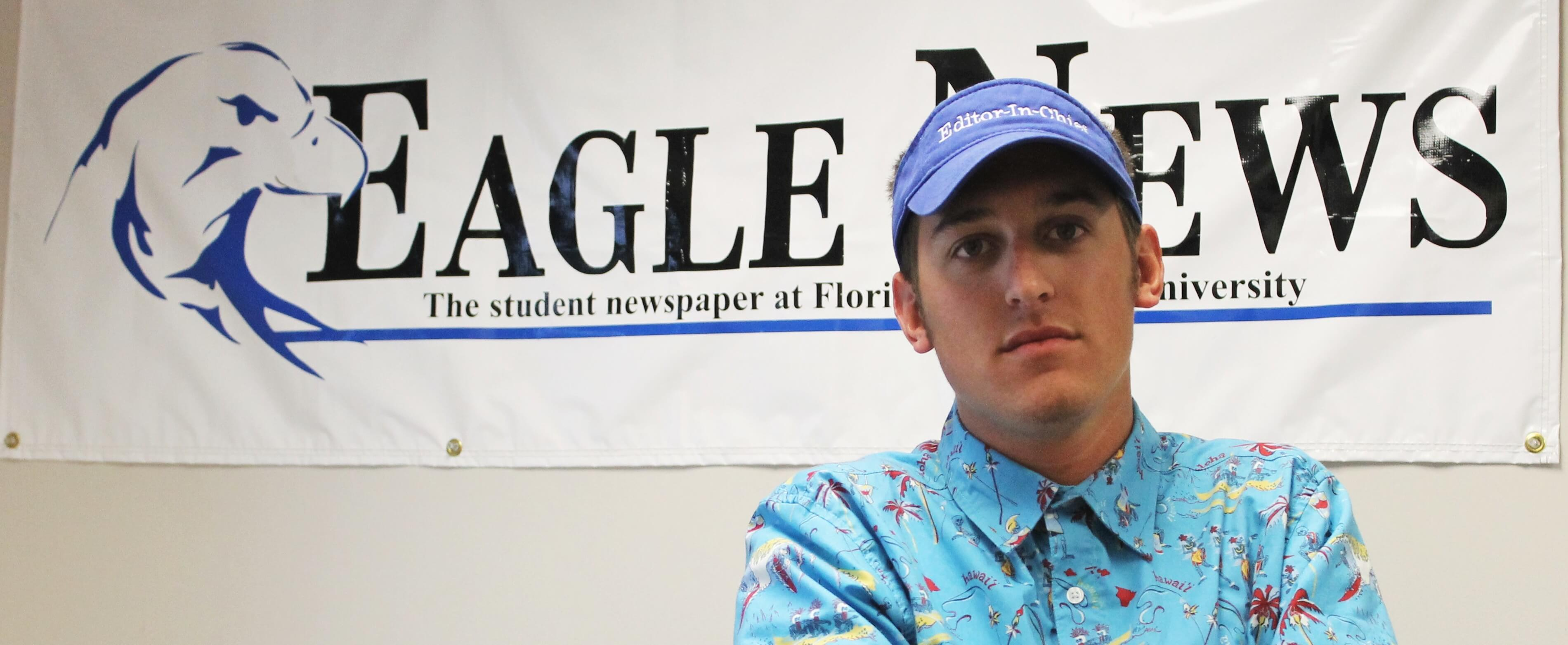 Eagle News Editor-in-chief, Justin Kane says final goodbyes and reflects on his  experiences at FGCU and with Eagle News