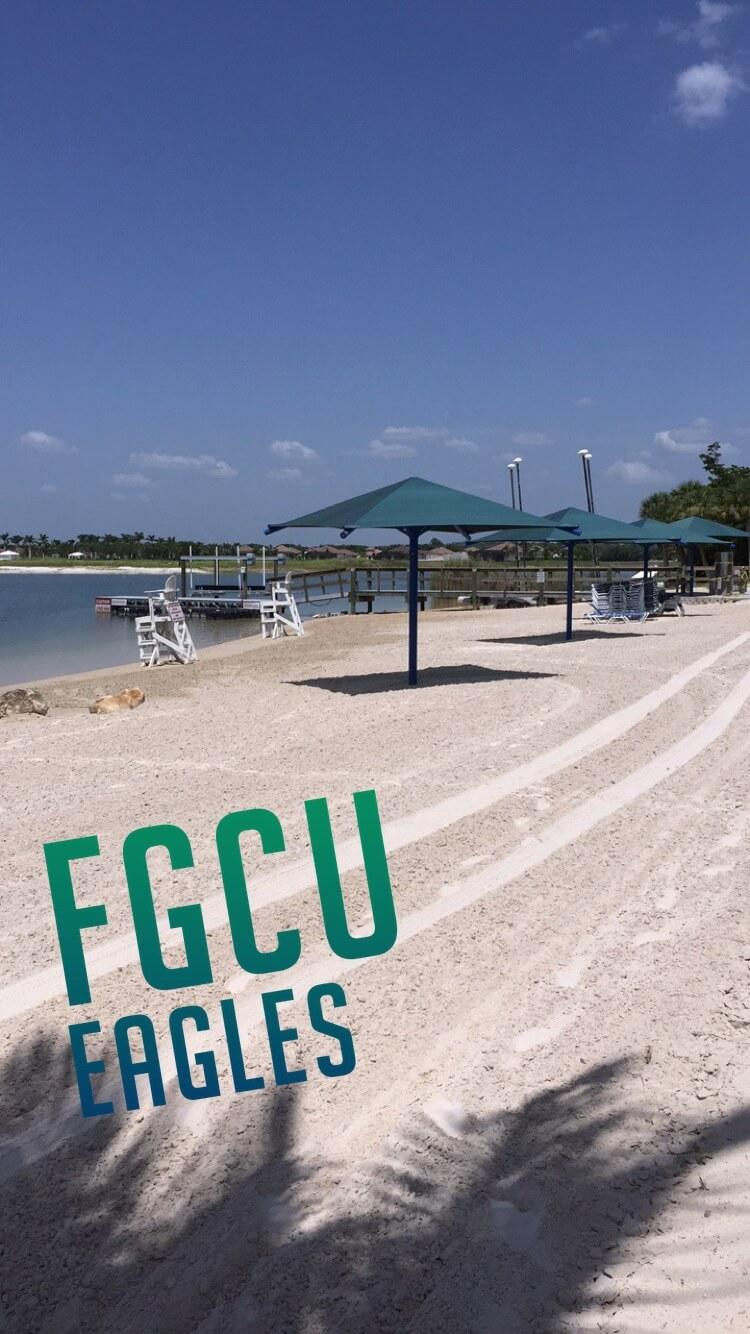 Snapchat features FGCU geofilter